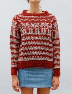 Isabel Marant Gladys Sweater- Rust