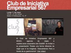 Presentación de MOAH Viajes en el Club 567
