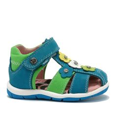 Look at this Maki Dark Turquoise Diva  Sandal on #zulily today!