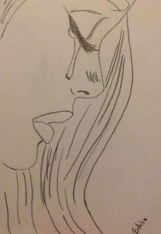Sad drawings, easy drawings sketches, cute drawings of people, easy love drawings, Sad Sketches, Sad Drawings, Girl Drawing Sketches, Art Drawings Sketches Simple, Drawing Ideas, Drawing Projects, Easy Drawings Of Love, Drawings Of People Easy, Tumblr Drawings