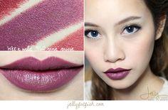 Lipstick, Wet n Wild, 916D Ravin' Raisin, Swatch, Mega Last Lip Color, Semi-Matte, Cream Finish, Cruelty-Free