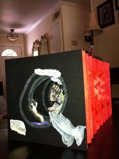 Dante's Inferno tunnel book.