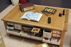 GARRISON - Board Game Table - Coffee - Living Room - www.rathskellers.com