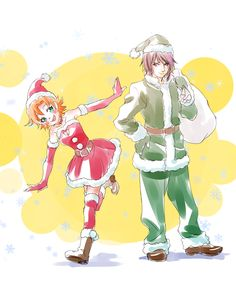 Christmas Nora and Ren