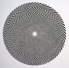 Bridget Riley Blaze 1964