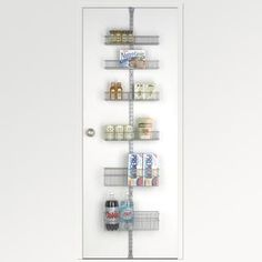Platinum elfa Door & Wall Rack System Components | The Container Store