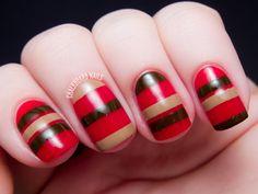 Chalkboard Nails #nail #nails #nailart