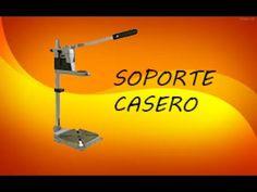 TALADRO CASERO DE BANCO FACIL DE HACER PARA MANUALIDADES Herramientas Utiles y Faciles - YouTube