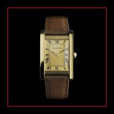 5efafec58056 Luxury watches  Tank watch collection by Cartier