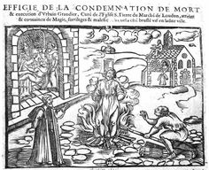 Urbain Grandier is burned at the stake in 1634 after the possession of the nuns at Loudun.