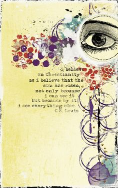 Love any C.S. Lewis quote...Journal prompt: i see by strawberryredhead, via Flickr