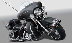 Moto Harley Davidson Custom - Decal Line Adesivos