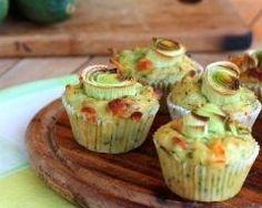 Muffins aux poireaux et au chèvre (facile, rapide) - Une recette CuisineAZ