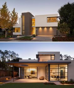This lantern inspired house design lights up a California neighborhood