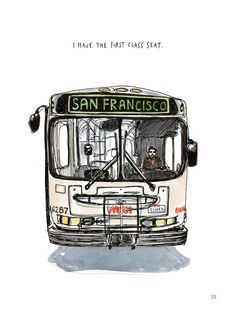 12 Charming Illustrations That Will Be Your Guide To The People And Places Of San Francisco