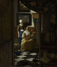 Vermeer, Johannes - The Loveletter - ヨハネス・フェルメール - Wikipedia