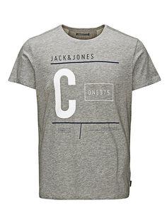 CORE by JACK & JONES - T-Shirt von CORE - Regular fit - Rundhalsausschnitt - Marken-Aufdruck auf der Vorderseite 60% Baumwolle, 40% Polyester...