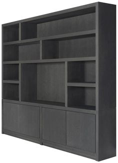 Living Room Bookcase, Living Room Wall Units, Living Room Storage, Home Living Room, Tv Shelving Unit, Bookcase Shelves, Muebles Living, Teen Bedroom Designs, Wall Shelves Design