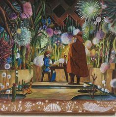 #ghibli #nausicaa #colorpencil #ジブリ #ナウシカ #地下室 #色鉛筆 Greenhouse Film, Nausicaa, Isao Takahata, Animation, Anime Scenery, Hayao Miyazaki, Totoro, Art Drawings, Cool Art