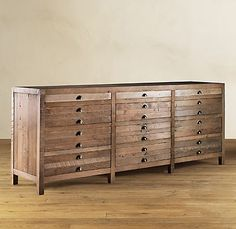 restoration hardware - printmakers sideboard $1695.00