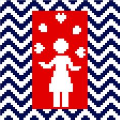 Juggling Mum. Fun minimalist Mother's Day cross stitch pattern by crossstitchtheline. Modern design for Mother's Day.