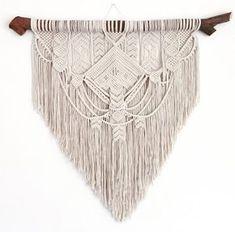 Ancestral weave, Macrame wall hanging