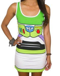 Toy Story Buzz Lightyear Tank Dress