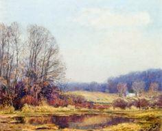 Late Autumn - Wilson Irvine - The Athenaeum