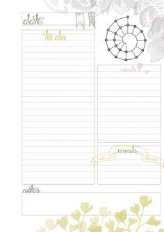 Spiraldex Day-on-One-Page Planner Insert