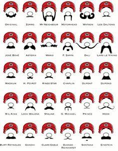 Festa do Bigode: Modelos de bigodes famosos