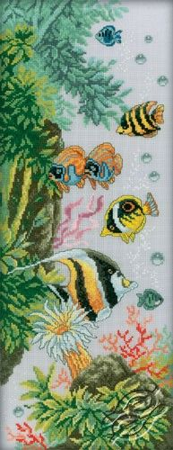 Bright Underwater Life - Cross Stitch Kits by RTO - M181