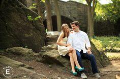 Central Park Engagement Photos   Megan & Ben