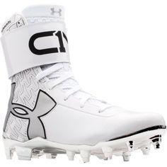 1cfe99cd71b9 Under Armour Boys's C1N MC Football Cleats - White White Football Cleats,  Football And Basketball