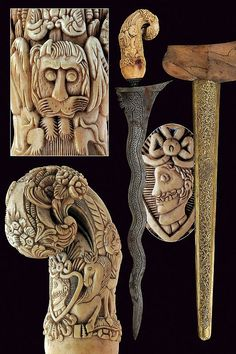 A rare hilted kris, Indonesia, 19th century