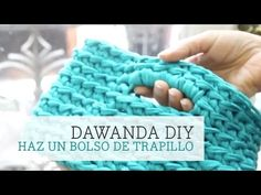 Cómo hacer un bolso de trapillo | How to make a zpagetti crochet handbag - YouTube