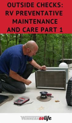 Preventative care and maintenance for your home on wheels is a very important component of rv ownership. No matter how you use your RV, full-timing, or summer vacation trips, maintenance is very important. From a roof inspection, air conditioning system check, fridge & furnace inspection, and so much more. Check out this great two part series article full of tips and great information that every RV owner can benefit from on how to maintain and care for your RV. Rv Hacks, Air Conditioning System, House On Wheels, Vacation Trips, The Outsiders, Rv Tips, Benefit, Summer, Check