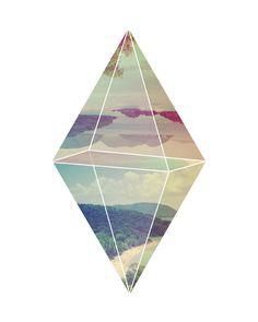 Isla Prism (8x10). $18,00, via Etsy.