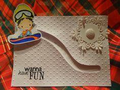 Vishu's Corner: Wanna have fun slider card