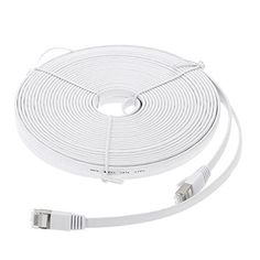 EpicDealz Premium Gigabit Ultra Flat CAT7 Ethernet Network Patch Cord Cable 10 Feet  White >>> Be sure to check out this awesome product. Note: It's an affiliate link to Amazon.