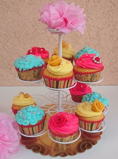 Vanilla Cupcakes with Mascarponne for Junior Party