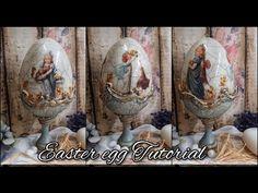 Easter egg ♡♡♡Decoupage tutorial - YouTube Decoupage Tutorial, Flower Phone Wallpaper, Sculpture Painting, Egg Art, Easter 2021, Rice Paper, Easter Crafts, Creative Inspiration, Easter Eggs