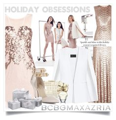 """""""Holiday Obsessions with BCBGMAXAZRIA"""" by maria-maldonado ❤ liked on Polyvore featuring BCBGMAXAZRIA"""