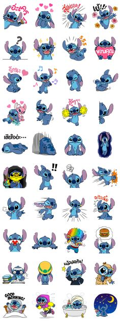 Stitch Returns Line Sticker - Rumors City
