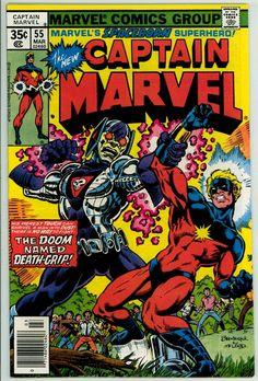 Captain Marvel 55 (FN+ 6.5)