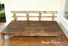 twin platform day bed | Beaux R'eves: Outdoor Daybed