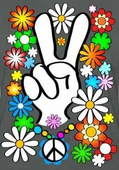 Peace and Love to Ashlie this of July and for all eternity! Love your Mom! Hippie Style, Paz Hippie, Hippie Peace, Happy Hippie, Hippie Love, Hippie Chick, Hippie Gypsy, Hippie Party, Hippie Birthday