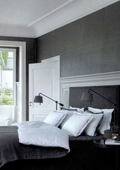 Grey Or Gray Bedroom Inspiration  Gray Bedroom Bedrooms And Walls Inspiration Gray Carpet Bedroom Decorating Design