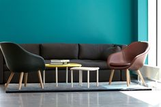 Comwell by HAY, About A lounge, Hackney sofa, Serve table, Colour Carpet