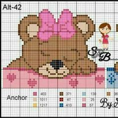 Cute Cross Stitch, Cross Stitch Charts, Cross Stitch Embroidery, Embroidery Patterns, Hand Embroidery, Cross Stitch Patterns, Pixel Crochet Blanket, Crochet Baby Sweaters, Plastic Canvas Crafts