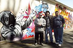 """""""Controversial"""" Trayvon Martin mural in NJ.  http://www.12ozprophet.com/index.php/news/graffiti-mural-in-memory-of-trayvon-martin-sparks-controversy-in-new-jersey"""